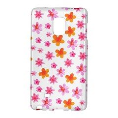 Watercolor Summer Flowers Pattern Galaxy Note Edge by TastefulDesigns