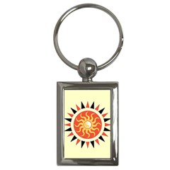Yin Yang Sunshine Key Chains (rectangle)  by linceazul