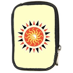 Yin Yang Sunshine Compact Camera Cases by linceazul