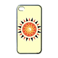 Yin Yang Sunshine Apple Iphone 4 Case (black) by linceazul