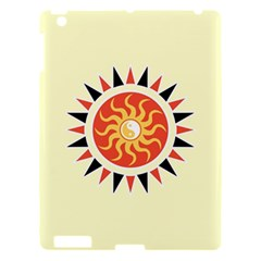 Yin Yang Sunshine Apple Ipad 3/4 Hardshell Case by linceazul