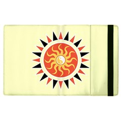 Yin Yang Sunshine Apple Ipad 3/4 Flip Case by linceazul
