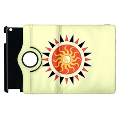 Yin Yang Sunshine Apple Ipad 3/4 Flip 360 Case by linceazul
