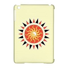 Yin Yang Sunshine Apple Ipad Mini Hardshell Case (compatible With Smart Cover) by linceazul