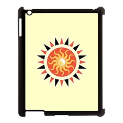 Yin Yang Sunshine Apple Ipad 3/4 Case (black) by linceazul
