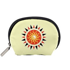 Yin Yang Sunshine Accessory Pouches (small)  by linceazul