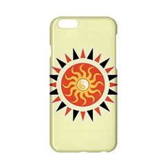 Yin Yang Sunshine Apple Iphone 6/6s Hardshell Case by linceazul