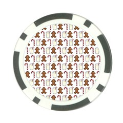 Christmas Trio Pattern Poker Chip Card Guard (10 Pack)