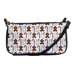 Christmas Trio Pattern Shoulder Clutch Bags by Nexatart