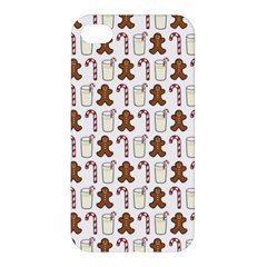 Christmas Trio Pattern Apple Iphone 4/4s Hardshell Case by Nexatart