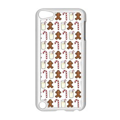 Christmas Trio Pattern Apple Ipod Touch 5 Case (white) by Nexatart