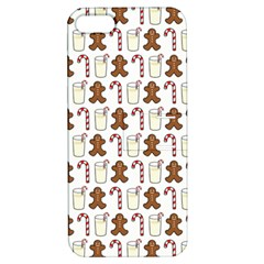 Christmas Trio Pattern Apple Iphone 5 Hardshell Case With Stand