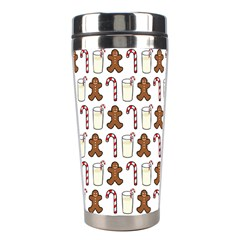 Christmas Trio Pattern Stainless Steel Travel Tumblers by Nexatart