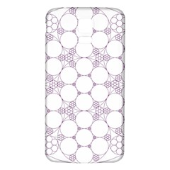 Density Multi Dimensional Gravity Analogy Fractal Circles Samsung Galaxy S5 Back Case (white) by Nexatart