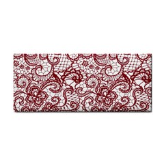 Transparent Lace With Flowers Decoration Cosmetic Storage Cases by Nexatart