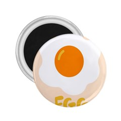 Egg Eating Chicken Omelette Food 2 25  Magnets by Nexatart