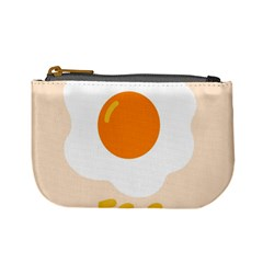 Egg Eating Chicken Omelette Food Mini Coin Purses by Nexatart