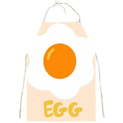 Egg Eating Chicken Omelette Food Full Print Aprons