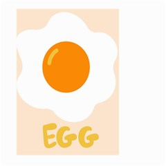 Egg Eating Chicken Omelette Food Large Garden Flag (two Sides)