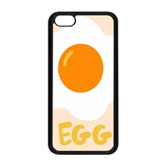 Egg Eating Chicken Omelette Food Apple Iphone 5c Seamless Case (black) by Nexatart