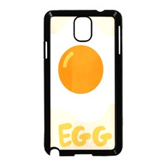 Egg Eating Chicken Omelette Food Samsung Galaxy Note 3 Neo Hardshell Case (black) by Nexatart