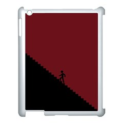 Walking Stairs Steps Person Step Apple Ipad 3/4 Case (white) by Nexatart