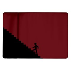 Walking Stairs Steps Person Step Samsung Galaxy Tab 10 1  P7500 Flip Case by Nexatart