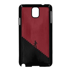 Walking Stairs Steps Person Step Samsung Galaxy Note 3 Neo Hardshell Case (black)
