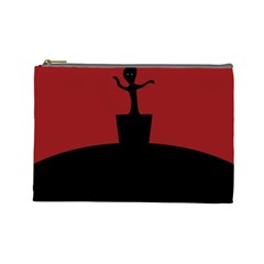 Baby Groot Guardians Of Galaxy Groot Cosmetic Bag (large)  by Nexatart
