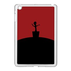 Baby Groot Guardians Of Galaxy Groot Apple Ipad Mini Case (white) by Nexatart