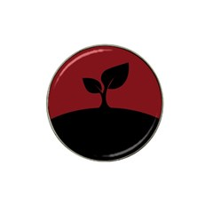 Plant Last Plant Red Nature Last Hat Clip Ball Marker (4 Pack)