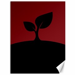 Plant Last Plant Red Nature Last Canvas 36  X 48   by Nexatart