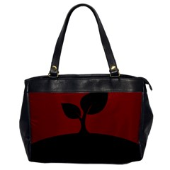 Plant Last Plant Red Nature Last Office Handbags by Nexatart