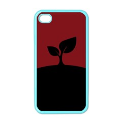 Plant Last Plant Red Nature Last Apple Iphone 4 Case (color) by Nexatart