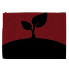 Plant Last Plant Red Nature Last Cosmetic Bag (xxl)  by Nexatart