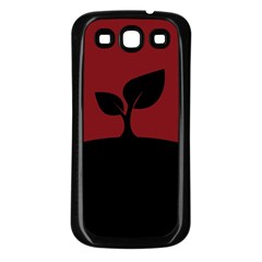 Plant Last Plant Red Nature Last Samsung Galaxy S3 Back Case (black) by Nexatart