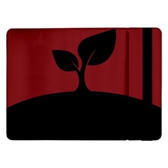 Plant Last Plant Red Nature Last Samsung Galaxy Tab Pro 12 2  Flip Case