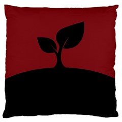 Plant Last Plant Red Nature Last Standard Flano Cushion Case (two Sides) by Nexatart