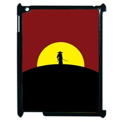 Samurai Warrior Japanese Sword Apple Ipad 2 Case (black) by Nexatart