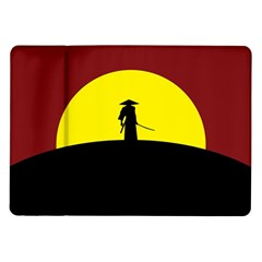 Samurai Warrior Japanese Sword Samsung Galaxy Tab 10 1  P7500 Flip Case