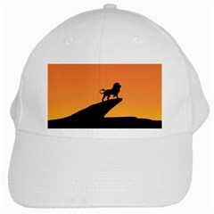 Lion Sunset Wildlife Animals King White Cap