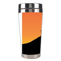 Lion Sunset Wildlife Animals King Stainless Steel Travel Tumblers by Nexatart