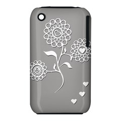 Flower Heart Plant Symbol Love Iphone 3s/3gs