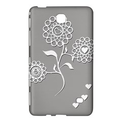 Flower Heart Plant Symbol Love Samsung Galaxy Tab 4 (7 ) Hardshell Case  by Nexatart