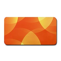 Abstract Orange Yellow Red Color Medium Bar Mats