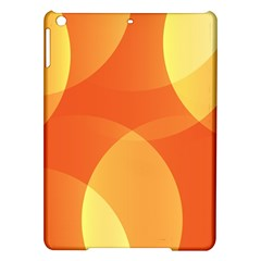 Abstract Orange Yellow Red Color Ipad Air Hardshell Cases by Nexatart