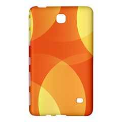 Abstract Orange Yellow Red Color Samsung Galaxy Tab 4 (8 ) Hardshell Case  by Nexatart