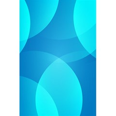 Abstract Blue Wallpaper Wave 5 5  X 8 5  Notebooks by Nexatart