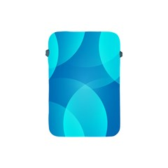 Abstract Blue Wallpaper Wave Apple Ipad Mini Protective Soft Cases