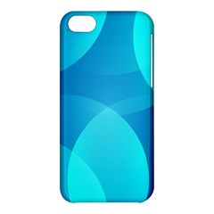 Abstract Blue Wallpaper Wave Apple Iphone 5c Hardshell Case